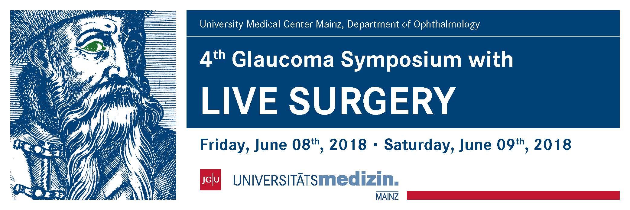 Pozvánka na 4. mezinárodní glaukomové symposium