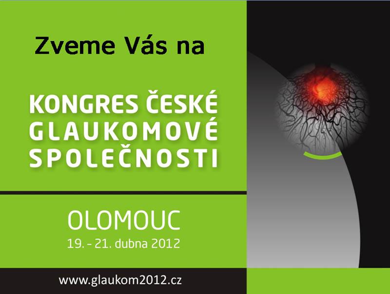Kongres České glaukomové společnosti 2012