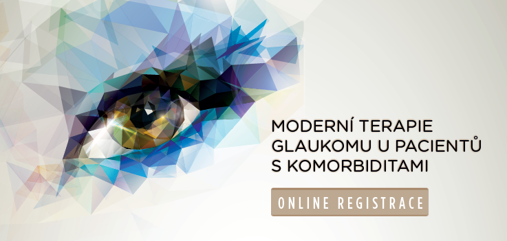 Moderní terapie glaukomu u pacientů s komorbiditami