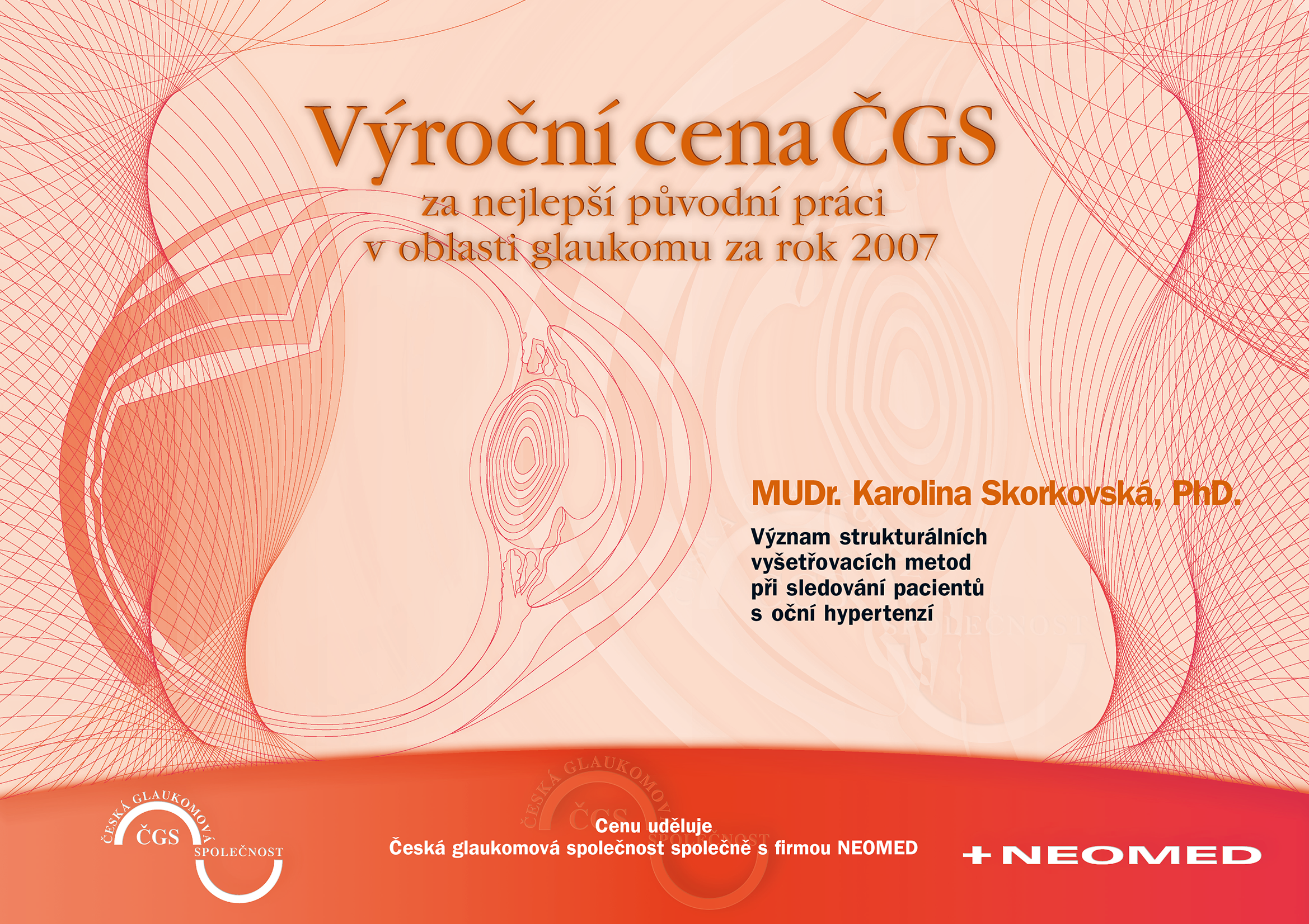 Výroční cena ČGS 2007